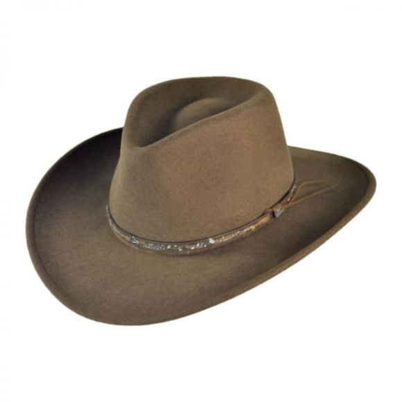 1db4a12e437 Stetson Outback Mt Sky Crushable Packable Wool Hat. Boutique. Stetson.  75   80. Size. Large (7 3 8 - 7 1 2)